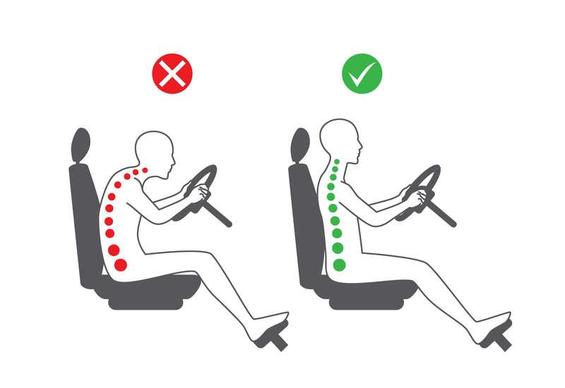 En el coche o en el avión, previniendo el dolor del viaje.